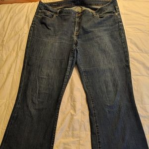 Women's Ginger boot cut jeans from lucky brand